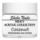 Nude Color Acrylic Powder - Milkies - Coconut thumbnail