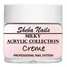 Nude Color Acrylic Powder - Milkies - Creme thumbnail