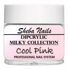 Dipcrylic Acrylic Dipping Powder - Milkies Collection - Cool Pink thumbnail