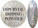 Dipcrylic Acrylic Dipping Powder - Winter Glitter Collection - Icicle thumbnail