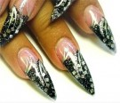 Stiletto Clear Tip - Pose med 20 thumbnail