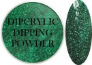 Dipcrylic Acrylic Dipping Powder - Glitter Collection - Sparkling Emerald thumbnail