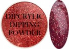 Dipcrylic Acrylic Dipping Powder - Glitter Collection - Sparkling Holographic Lava thumbnail