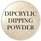 Dipcrylic Acrylic Dipping Powder - Glitter Collection - Golden Frost thumbnail
