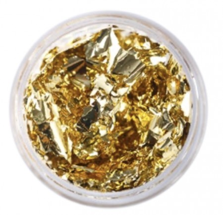 Nail Art Foil - Krukke - Golden