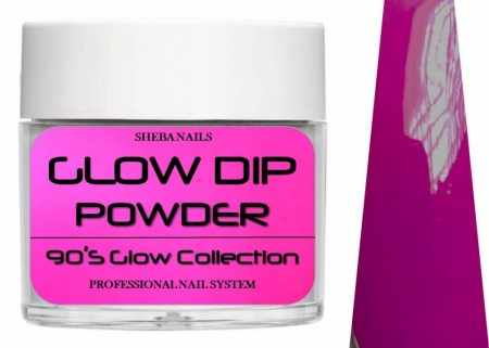 Dipcrylic Acrylic Dipping Powder - 90´s Flashback Glow Collection - T.G.I.F.