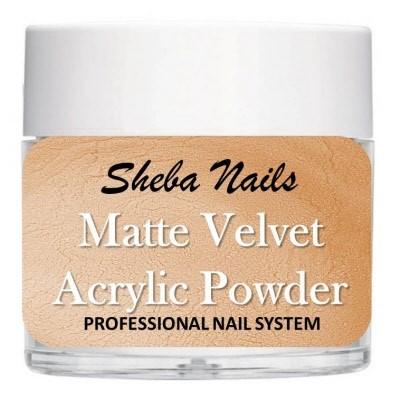 Matte Velvet Color Acrylic Powder - Suntan