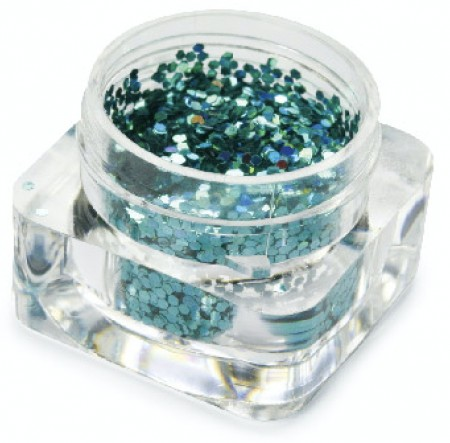 Hexagon Dazzling - Ocean Green Alpha - GDA-065