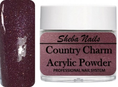Country Charm Color Acrylic Powder - Cranberry