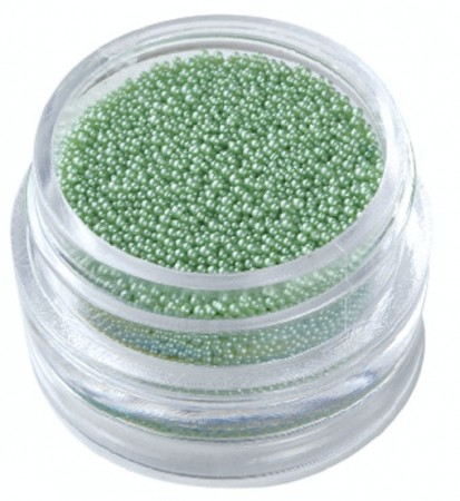 Nail Art Caviar Pearls #07 Green