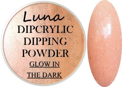 Dipcrylic Acrylic Dipping Powder - Glow in the Dark Collection - Luna Falling Star