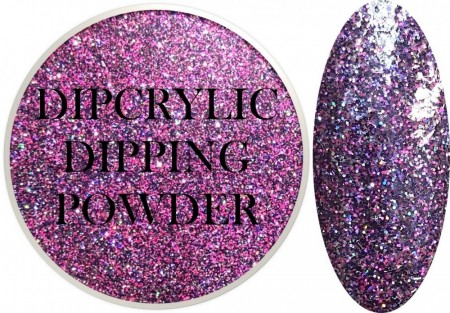 Dipcrylic Acrylic Dipping Powder - Glitter Collection - Party Girl