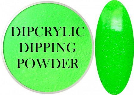 Dipcrylic Acrylic Dipping Powder - Unicorn Poop Collection - Pastel Neon Lucky