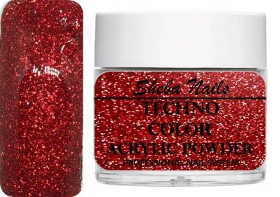 Techno Color Acrylic Powder - Sparkling Red