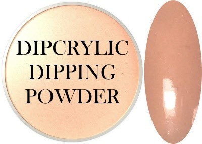 Dipcrylic Acrylic Dipping Powder - Nude Collection - Peach Fuzz