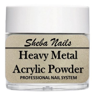 Heavy Metal Acrylic Powder - Platinum