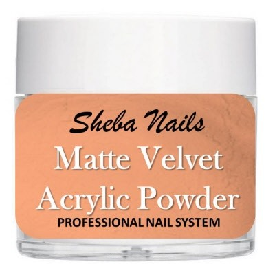 Matte Velvet Color Acrylic Powder - Ginger