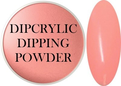 Dipcrylic Acrylic Dipping Powder - Precious Collection - Peach