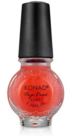 Konad Nail Art - Top Coat - Pink - 11 ml