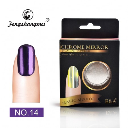 Magic Mirror Chrome Powder - #14 Chrome Shiny Dark Purple