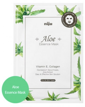 [NIJU] Aloe Essence Mask - Korean Sheet Mask