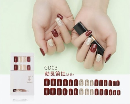 Press On Nails GD-003