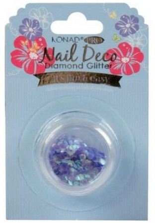 Konad Professional Nail Deco - Diamond Glitter - Purple