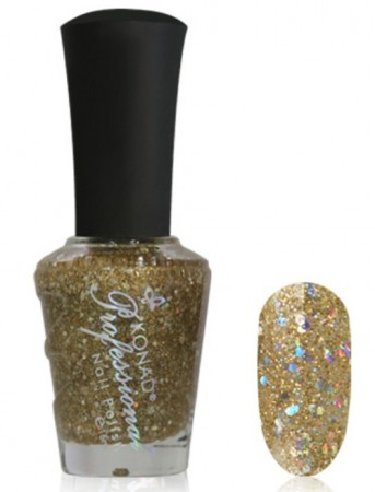 Konad Professional Nail Polish - P968 Diamond Gold Pearl