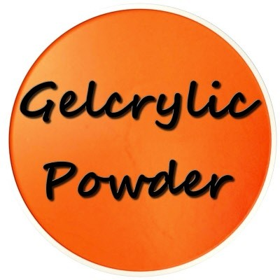 Gelcrylic Powder - Neon Orange