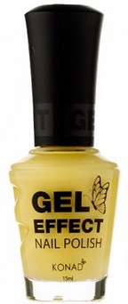 Konad Gel Effect Nail Polish - Sunny Yellow - GEP22