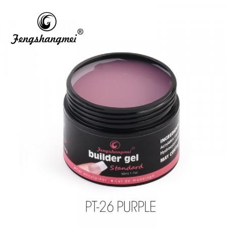 Fengshangmei Builder Gel PT-26 Purple