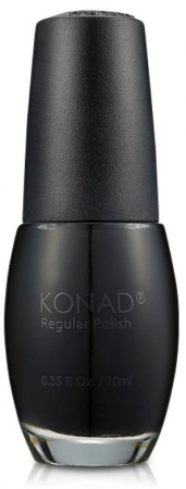 Konad - Regular Nail Polish - R01 Solid Black