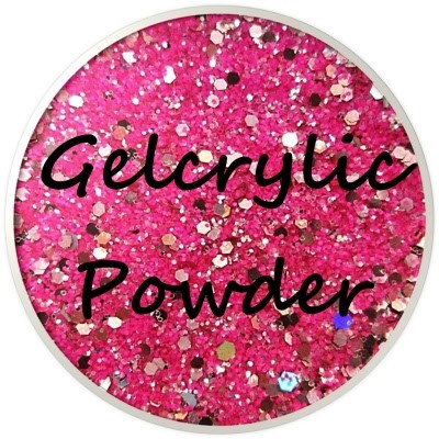 Gelcrylic Powder - Glitter Mix - Disco Tech