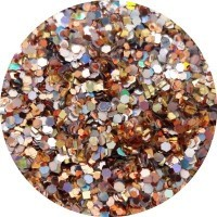 Sheba Nails - Glitter Blends Nail Art - Treasure Chest