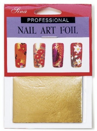 Nail Art Foil - Golden