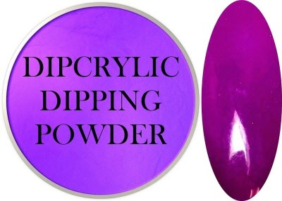 Dipcrylic Acrylic Dipping Powder - Neon Collection - Neon Purple