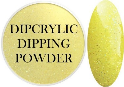 Dipcrylic Acrylic Dipping Powder - Glitter Collection - Sparkling Sun