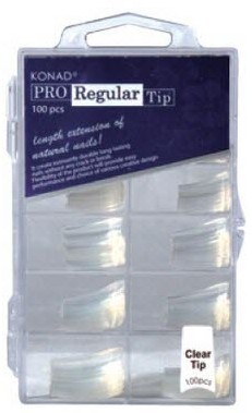Konad Professional Regular Tip - Clear