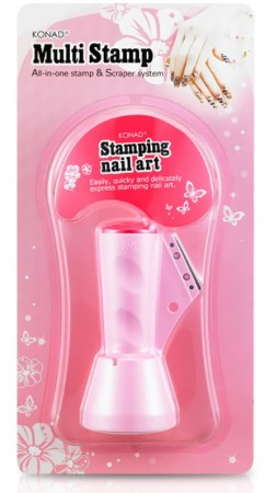 Konad Nail Art - Stamp & Scraper - Multistamp
