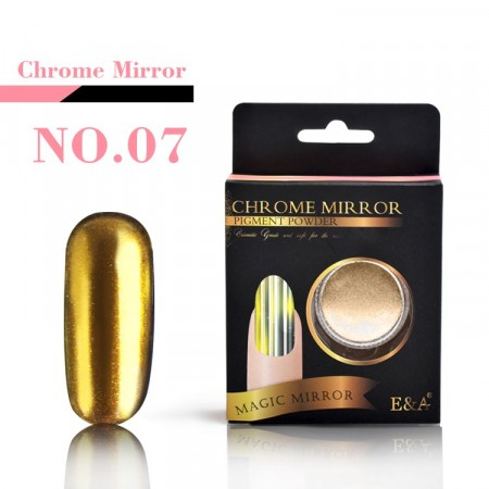 Magic Mirror Chrome Powder - Chrome Gold #07