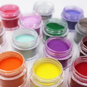Farget akrylpulver - 12 kolleksjoner
