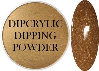 Dipcrylic Acrylic Dipping Powder - Country Collection - Rustic Gold