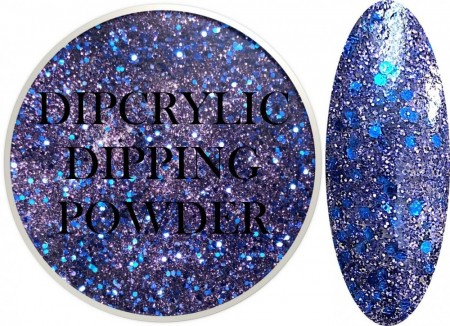 Dipcrylic Acrylic Dipping Powder - Glitter Collection - Nightfall