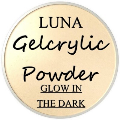 Gelcrylic Powder - Luna Glow In the Dark Collection - Star Gazer