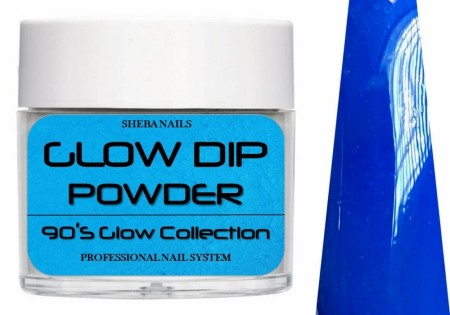 Dipcrylic Acrylic Dipping Powder - 90´s Flashback Glow Collection - Mom Jeans