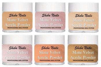 Matte Velvet Color Acrylic