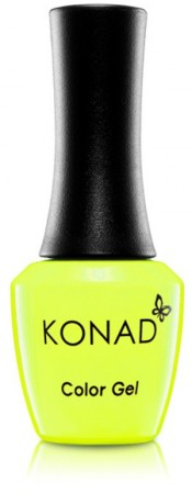 Konad Color Gel Nail Polish - CG066 Neon Yellow