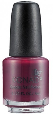 Konad Nail Art - Special Nail Polish - S38 Dark Red