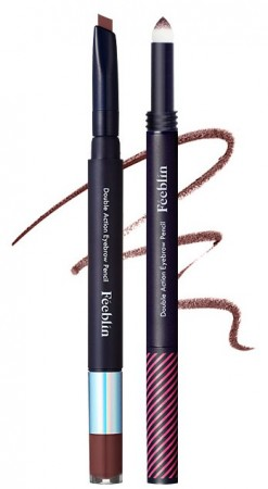 Feeblin Double Action Eyebrow Pencil 03 Red Brown