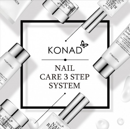 Konad Nail Care 3 Step System